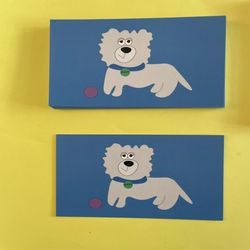비바비 강아지 엽서