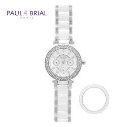 폴브리알 여성 메탈 시계 PB8018RGB(베젤 1종)