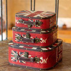 E21014 우드 가방 다용도수납함 3p-런던