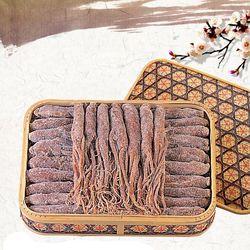 금산 울몸애 인삼정과 선물세트 특대 1.5kg (바구니 포함)