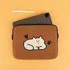 자수 포켓 노트북파우치 고양이 이해하기 (14인치)