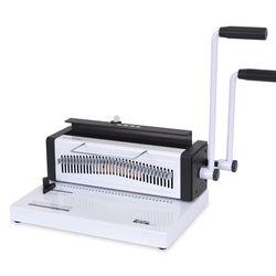 와이어링제본기 WS-720 1회20매 원형천공 학원 가정용