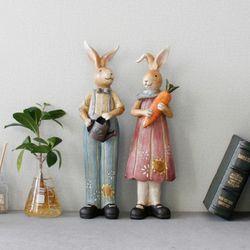 파머스 토끼 장식인형 2P set  (KU0766)