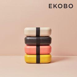 [에코보] 직사각 런치박스 4color