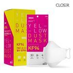 클로저 미세먼지 마스크 KF94 대형 화이트 25매