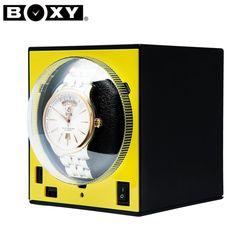 [BOXY 워치와인더] BWS-F(YE) YELLOW 와치와인더(어댑터 포함)