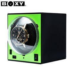 [BOXY 워치와인더] BWS-S(GR) GREEN 와치와인더(어댑터 미포함)