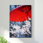iv376-일본벚꽃나무와우산중형노프레임