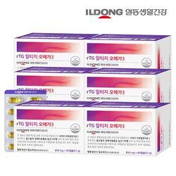 일동생활건강 RTG 알티지 오메가3 6박스 (12개월분)