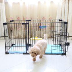 강아지 울타리 철조망