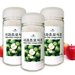 사과초모식초 애플사이다비니거분말 3통 총450g