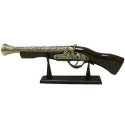 엔틱 나팔총 장식용 모형 총 인테리어 소품 장식총