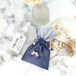 폴라포 피톤치드 스프레이 + 편백나무복주머니 미니선물세트