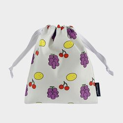 grape string pouch