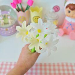 해바라기 백합 꽃 볼펜(3종)