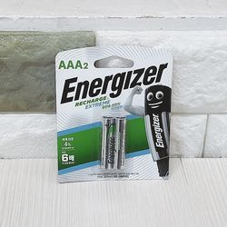 에너자이저 충전용 건전지 AAA 2개입