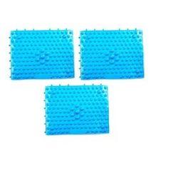 ABM 조립식 발지압 매트 블루 3개입