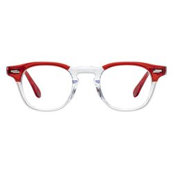 Ginsberg 46 PATCHWORK - 레드 클리어