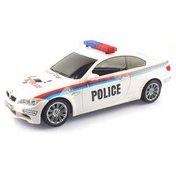2.4GHz 1:18 BMW M3 경찰차 무선조종RC 화이트