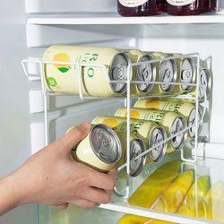 간편한 냉장고정리 캔거치대