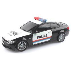 2.4GHz 1:18 BMW M3 경찰차 무선조종RC 블랙