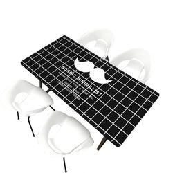 [아이니샵] 대리석 무늬 소프트 테이블매트