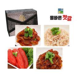 올바른 젓갈 오징어 새우 명란 비빔낙지 선물세트