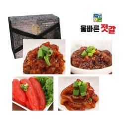 올바른 젓갈 오징어 명란 비빔낙지 꼴뚜기 선물세트