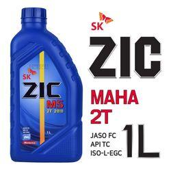 (PMC)ZIC M52T 2행정 오토바이엔진오일 1L 예초기오일