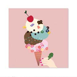 아이스크림 아트웍