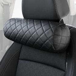 (PMC)시크릿 모자이크 차량용 목쿠션 2개입 자동차목베개