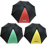 옐로우몬스터YellowMonster - 투톤컬러수동 단 우산