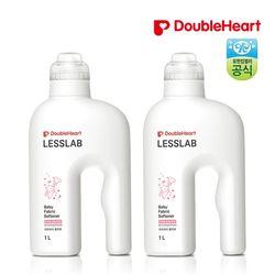 [더블하트] 레스랩 유아용 섬유유연제 1L X2개
