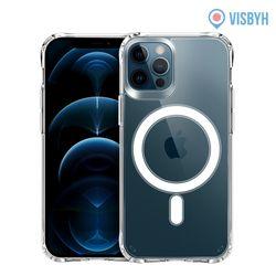 맥세이프 투명젤리 케이스 아이폰12 프로pro 무선충전