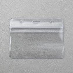 문구존 투명 명찰케이스 10p세트(가로형)