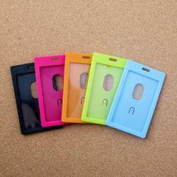 아이디 카드 명찰케이스 5p세트(세로형)