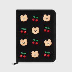 Dot cherry covy-black(북파우치)
