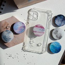 그려낸 작은 우주 행성 그립톡