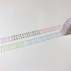 [당일발송] 패턴 마스킹테이프 3종