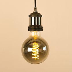 LED 에디슨전구 스파이럴 G95 4W 스모키블랙 더쎈