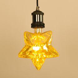 LED 에디슨전구 눈꽃별 2.5W 더쎈