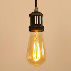 LED 에디슨전구 하트 ST64 4W 넥스트아이