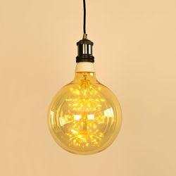 LED 에디슨전구 빅 눈꽃 G200 6W 넥스트아이