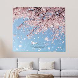 패브릭포스터 대형패브릭포스터 150x130 벚꽃무드