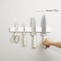 모노플랫 ctrl+v 무타공 자석칼걸이 40cm 1입 주방정리용품