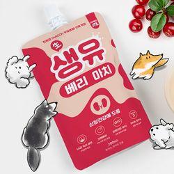 펫밀크 200ml x 5p 강아지 고양이 우유