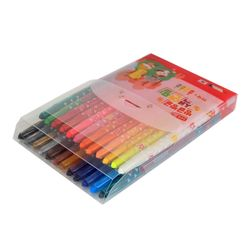 모닝글로리 8000 빙글빙글 색연필 (24색핑크)