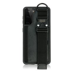 갤럭시S21플러스 버클 스트랩 카드 케이스블랙