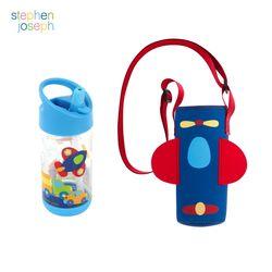 어린이집 선물 세트(물병가방+빨대물병) - 교통수단
