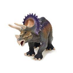 트리케라톱스 혼합색상 공룡 피규어